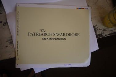 P1580849 377x251 1st proofs of my new book The Patriarchs Wardrobe