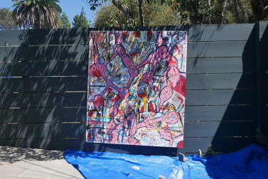 P1100461 377x252 My outdoor studio in LA last September, 2015